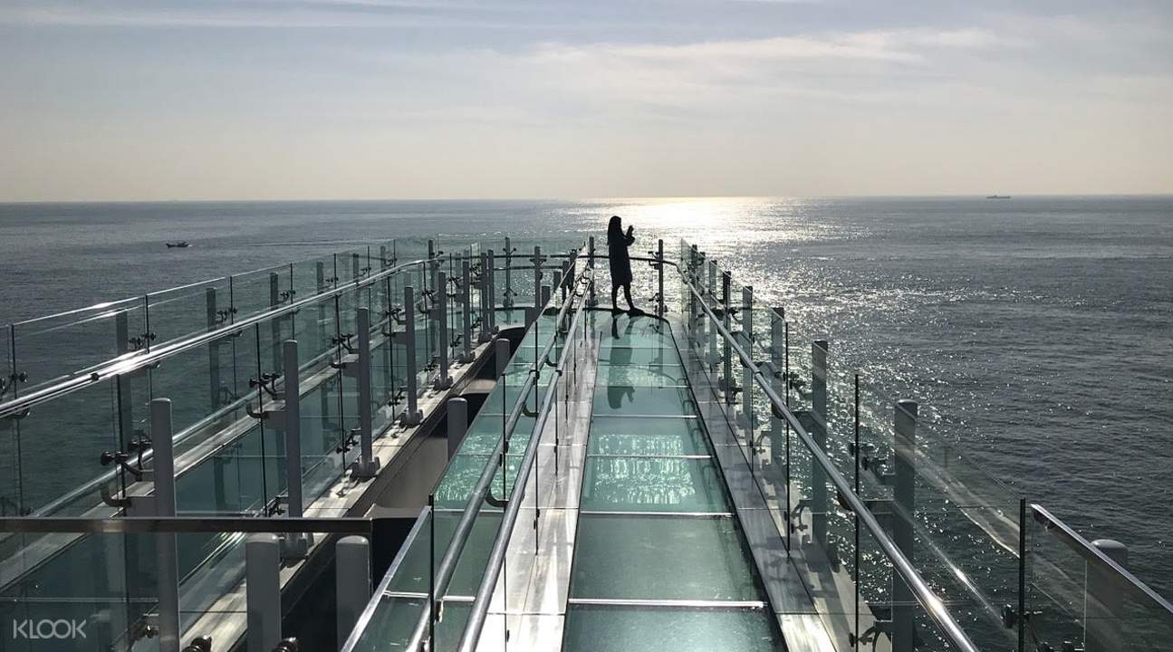 view from one end of skywalk